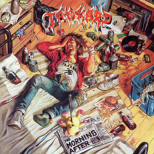 TANKARD - THE MORNING AFTER / ALIEN EP (COLOURED VINYL)