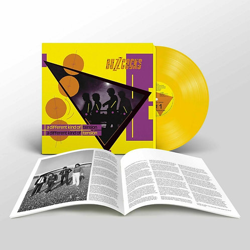 BUZZCOCKS - A DIFFERENT KIND OF TENSION (COLOURED VINYL)