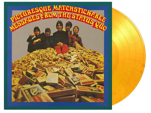 STATUS QUO - PICTURESQUE MATCHSTICKABLE MESSAGES FROM ... (COLOURED VINYL)