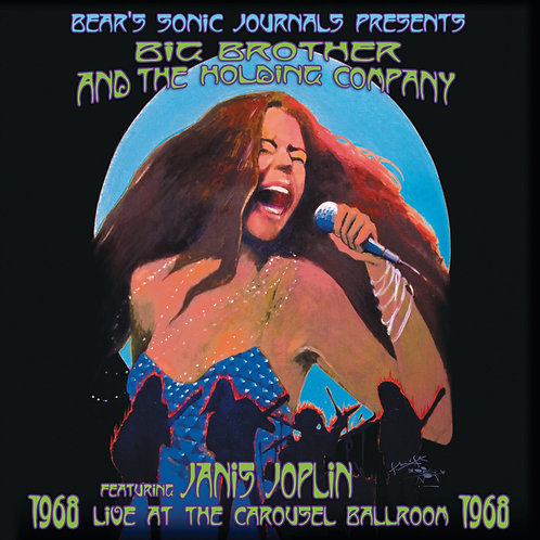 JOPLIN, JANIS - LIVE AT THE CAROUSEL BALLROOM 1968