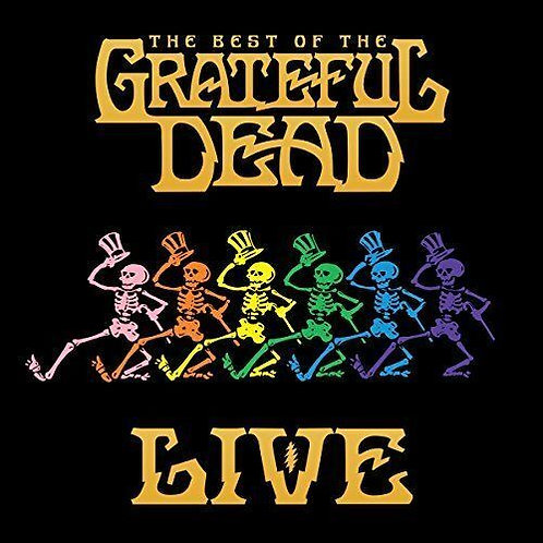 GRATEFUL DEAD - BEST OF THE GRATEFUL DEAD LIVE VOLUME 1: 1969 - 1977