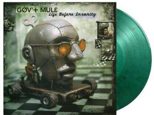 GOV'T MULE - LIFE BEFORE INSANITY (COLOURED VINYL)