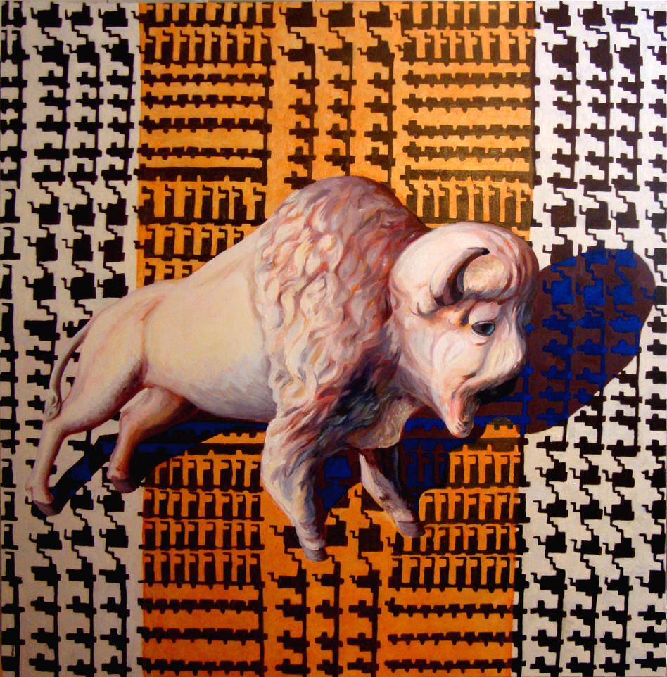 Houndstooth Bison
