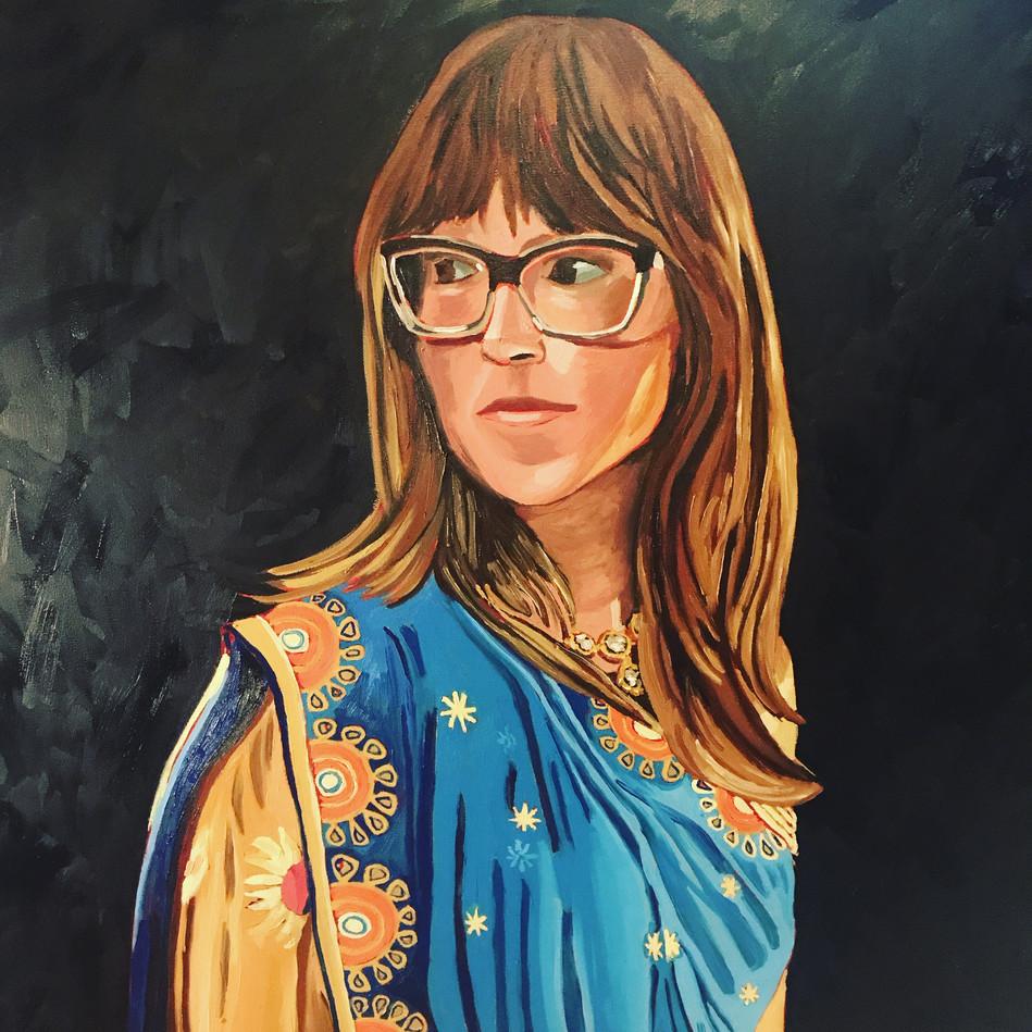 Saree Self Portrait