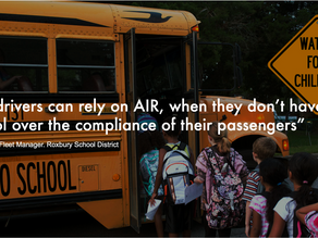 AIR by Atmos-Clear in action | NJ School Buses