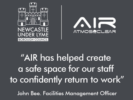 Newcastle-Under-Lyme Borough Council chose AIR by Atmos-Clear
