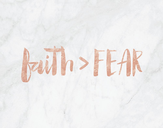 Faith Verses Fear