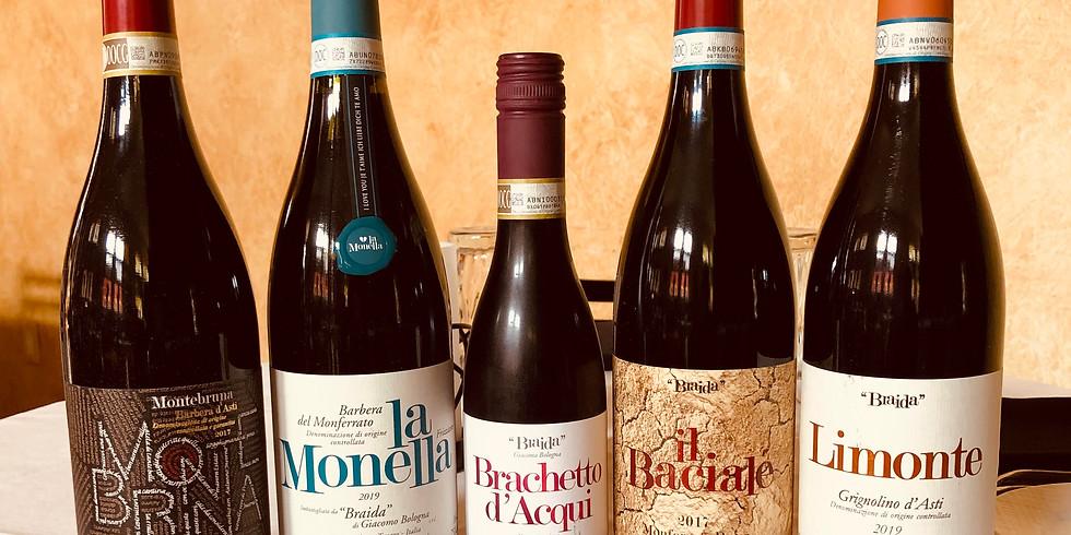 Braida Wine Dinner