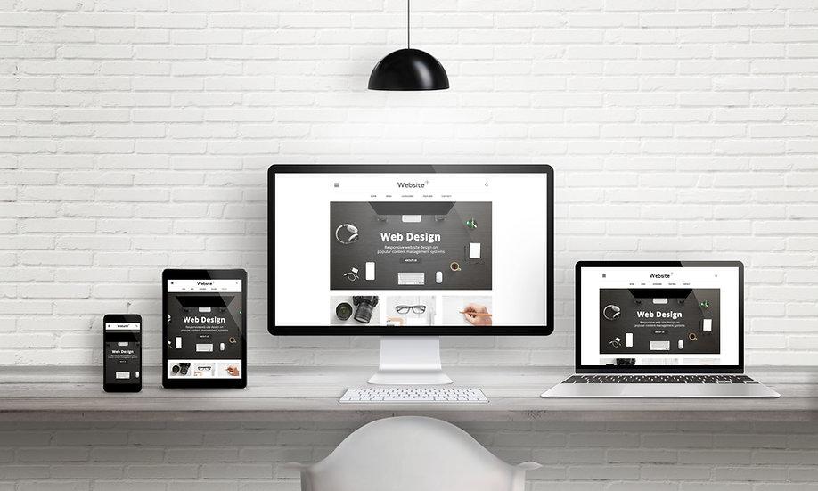 Creative web design agency presentation