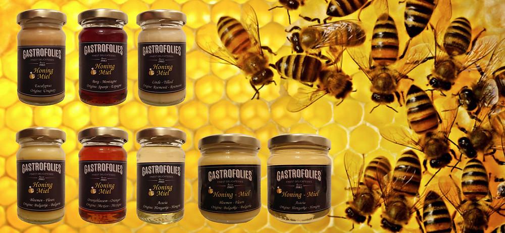Assortiment honing Gastrofolies