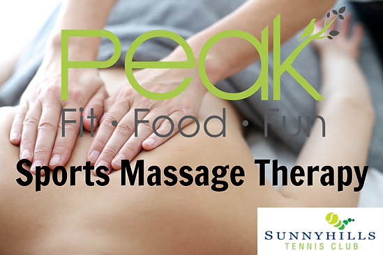 Sports Massage @ Peak for Life