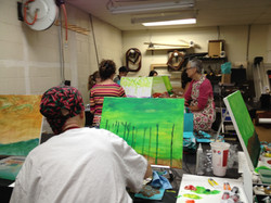 Painting away Ovarian Cancer 7