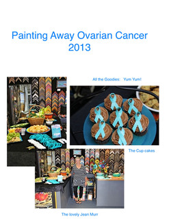 Painting away Ovarian Cancer 2