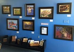 Unseld Art Exhibit