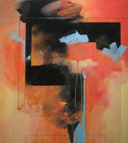 © Bibb (2) mixed media on canvas