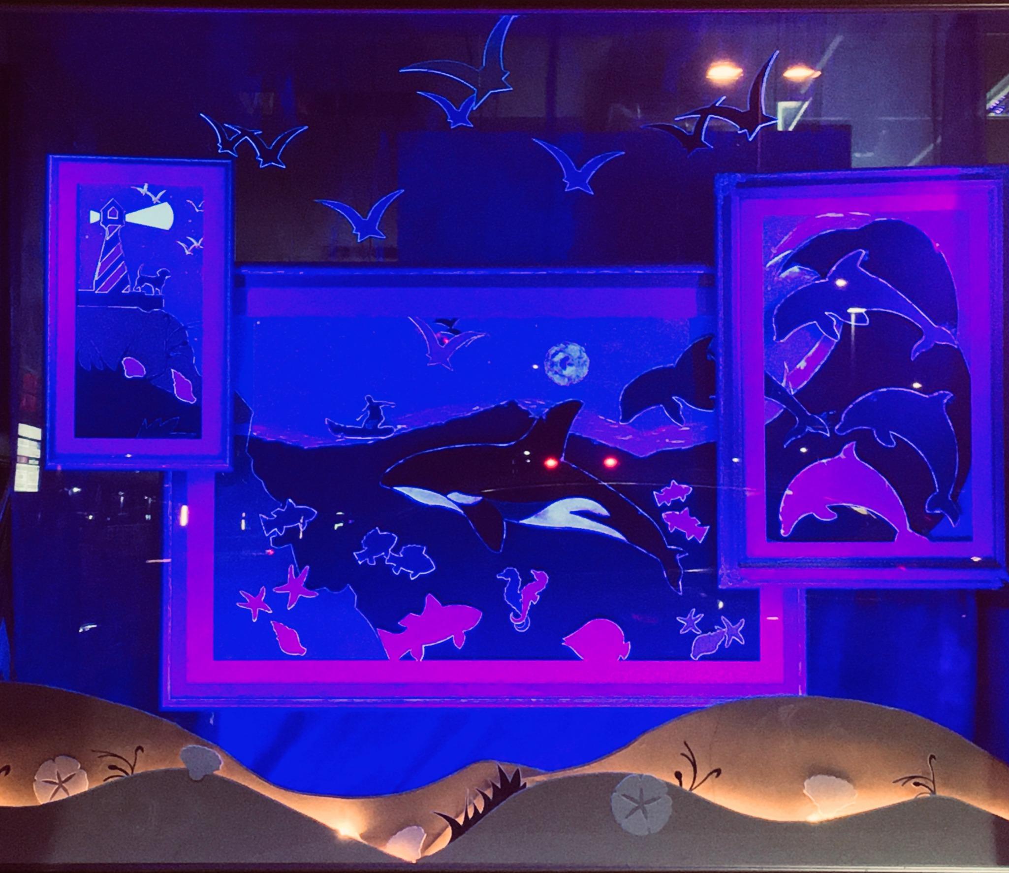 Ocean 2020//black lighting