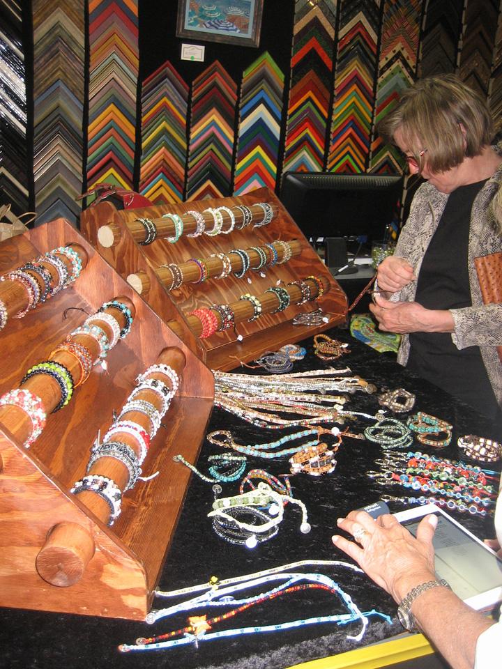 wrap bracelet trunk show 1