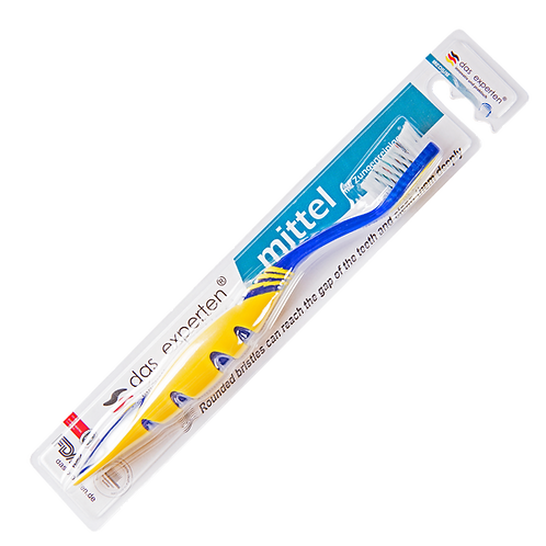 MITTEL ERGONOMIC TOOTHBRUSH WITH TONGUE CLEANER