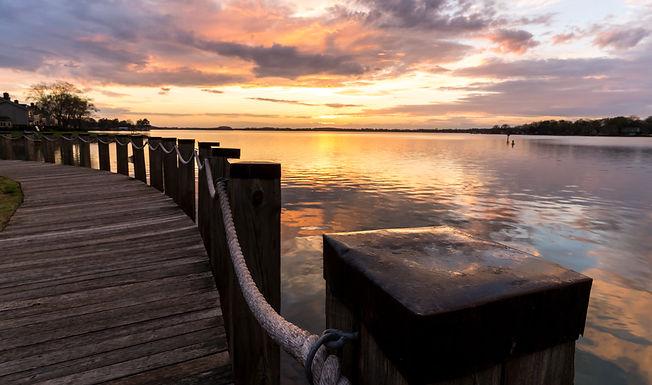 A stroll along the boardwalk on Lake Nor