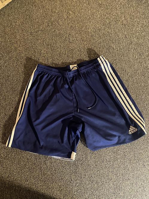 Dark Blue Adidas Gym Shorts