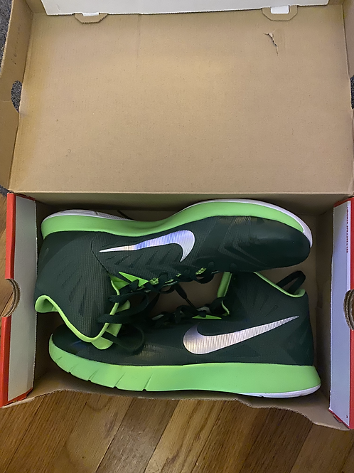 Nike Zoom Hyper Quickness Shoes Green Basketball