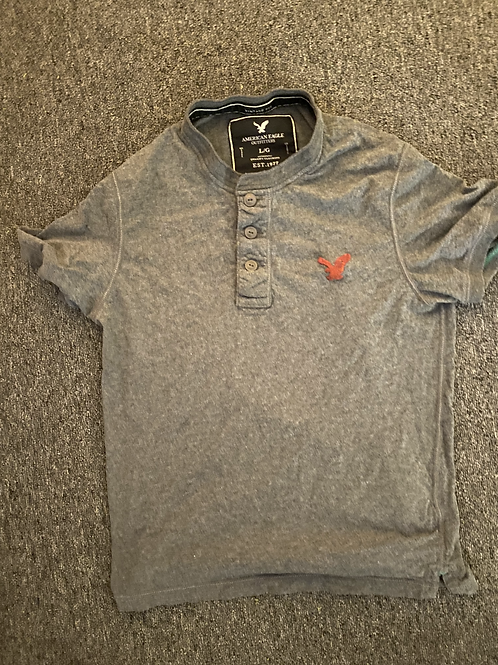American Eagle 3 Button T-Shirt