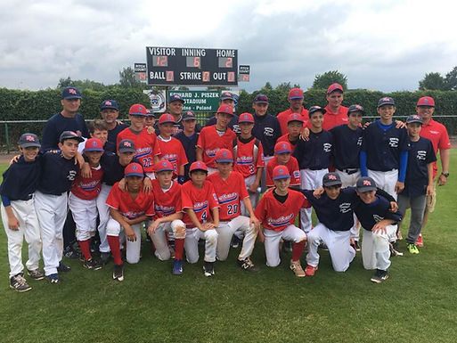 Team UK is runner-up at the 2017 Europe-Africa Little League Regional