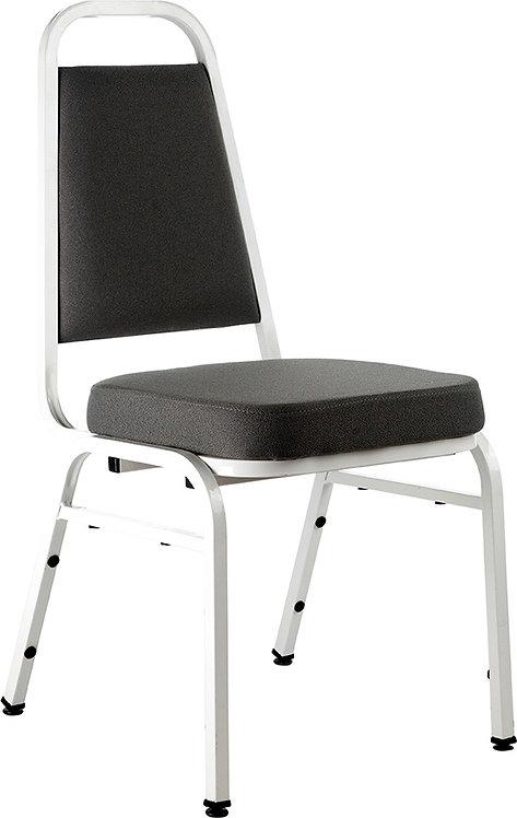 Cadeira Simples Branca e Marrom
