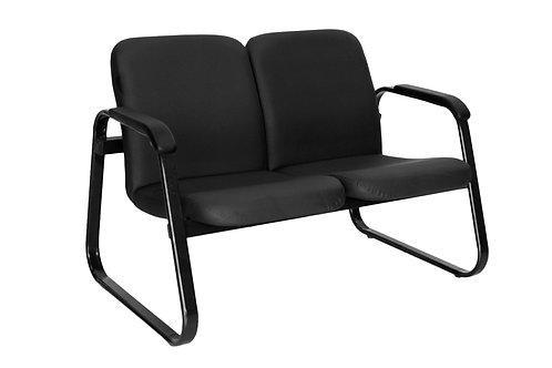Cadeira Preta 2 assentos