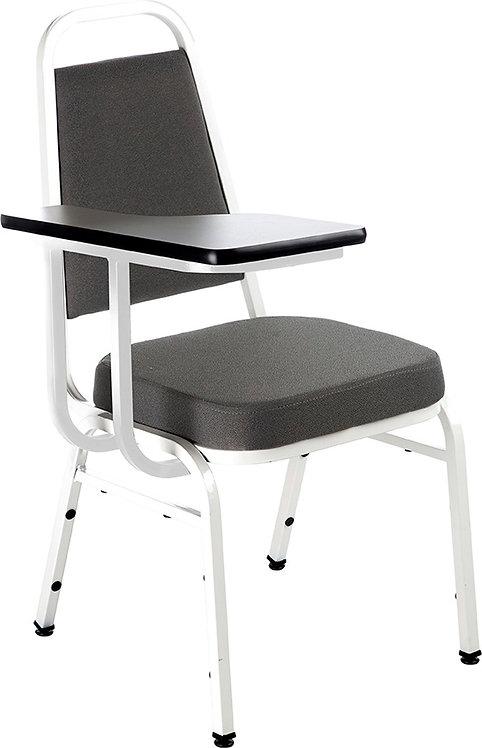 Cadeira de Escritório Branca e Marrom