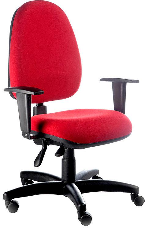 Cadeira Vermelha de Roda Simples