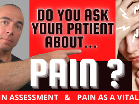 PAIN IS WHAT THE PATIENT SAYS IT IS! Who doesn't have pain these days…???