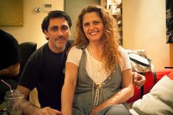 With Eleni Tsaligopoulou
