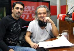 With Christos Thivaios