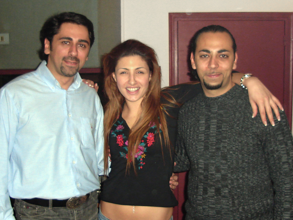 With Helena Paparizou