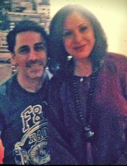 With Charis Alexiou