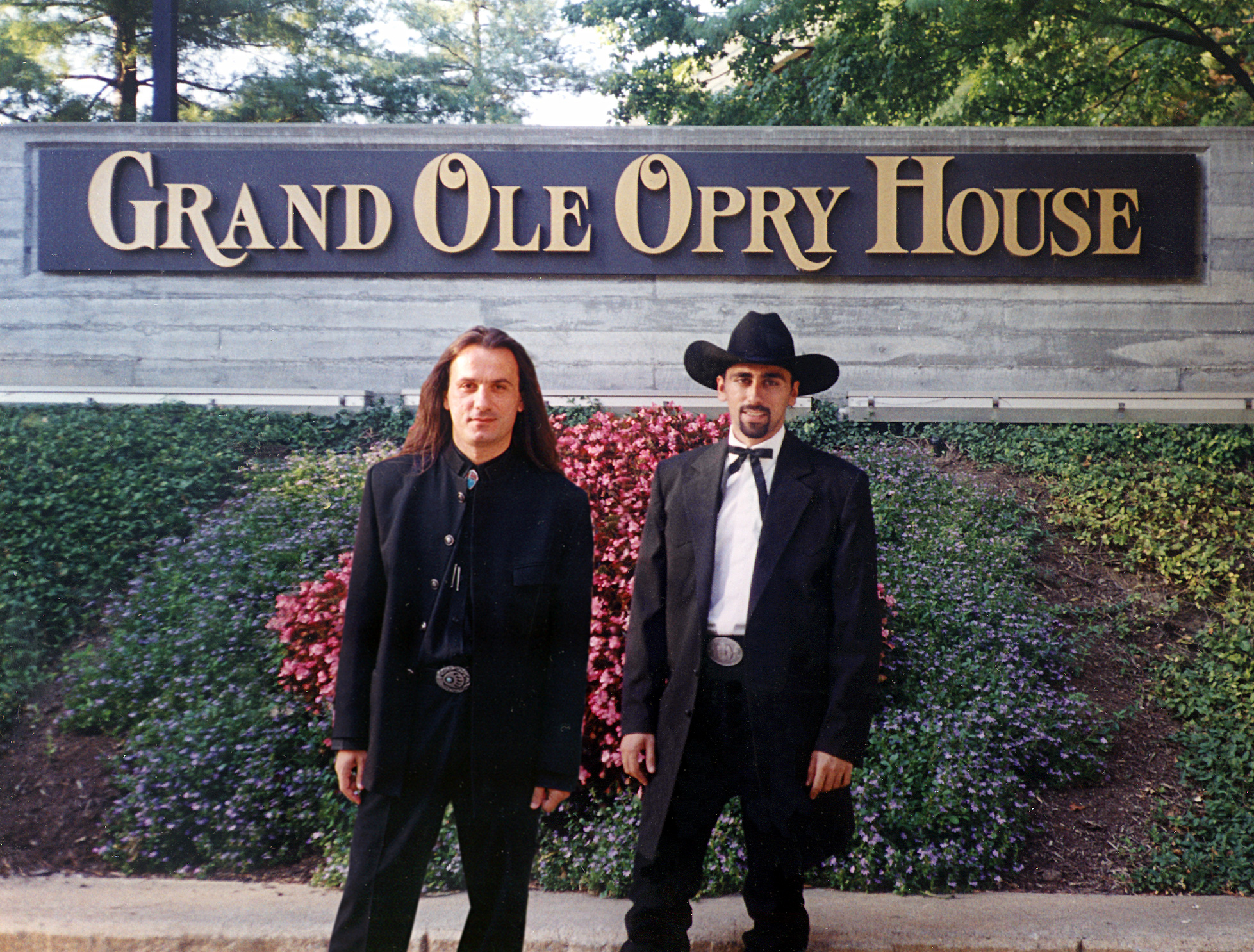 At the Grand Ole Opry House