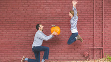 Embracing the weird with an engagement shoot