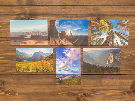 National Parks Postcards — Pack of Six $18