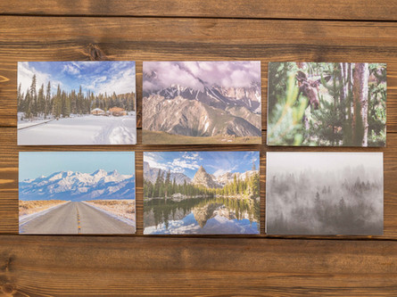 Colorado Letters — Pack of Six $25