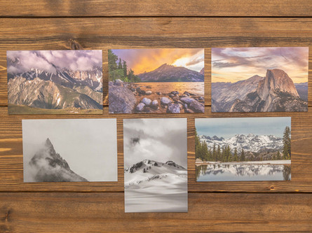 Mountain Peaks Postcards — Pack of Six $18