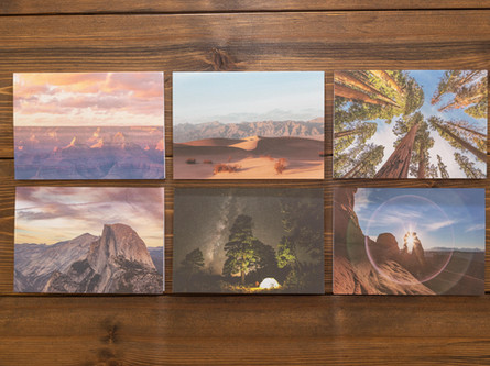 National Parks Letters — Pack of Six $25