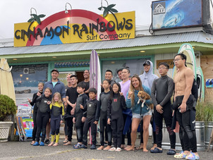 City Kids Surf Camp for Y.E.S. Boston
