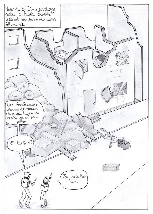 S.A.D. Chapitre 1 / Pages 1 et 2