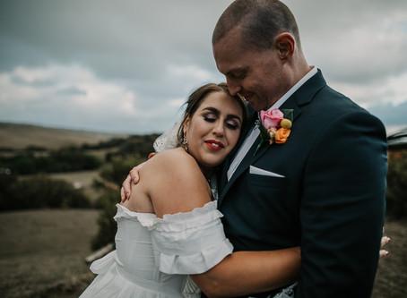 Rustic Mornington Peninsula Wedding