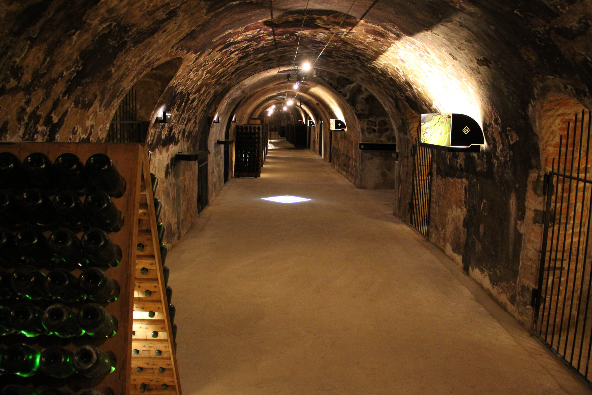 Les caves des maisons de Champagne