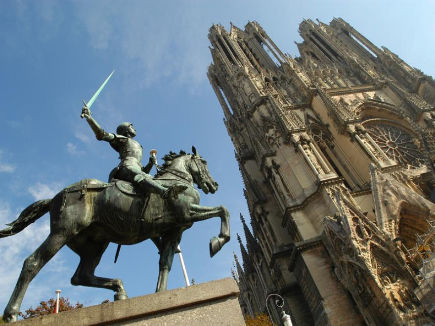 Statue Jeanne d'Arc