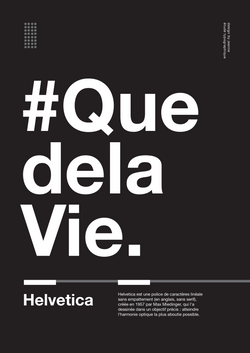 quedelavie