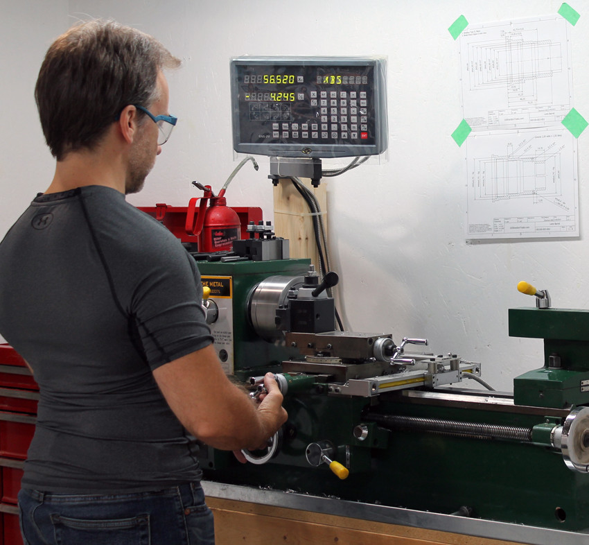 Custom designed 117 mm F/4.5 lathe work