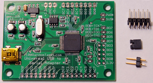 FT2232 Universal USB to Serial
